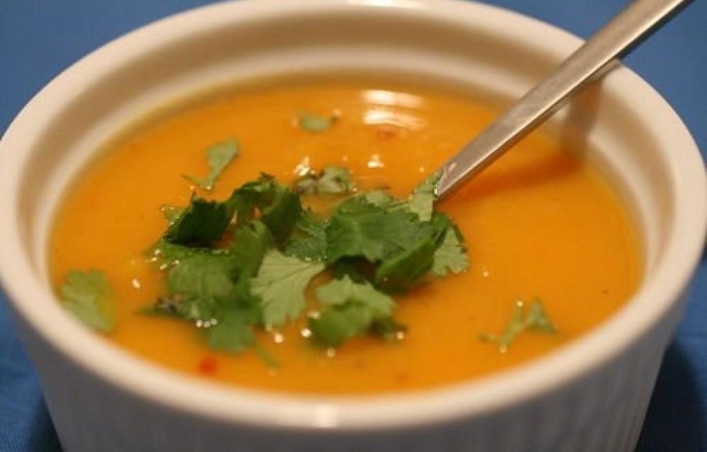 Słodka zupa ziemniaczana