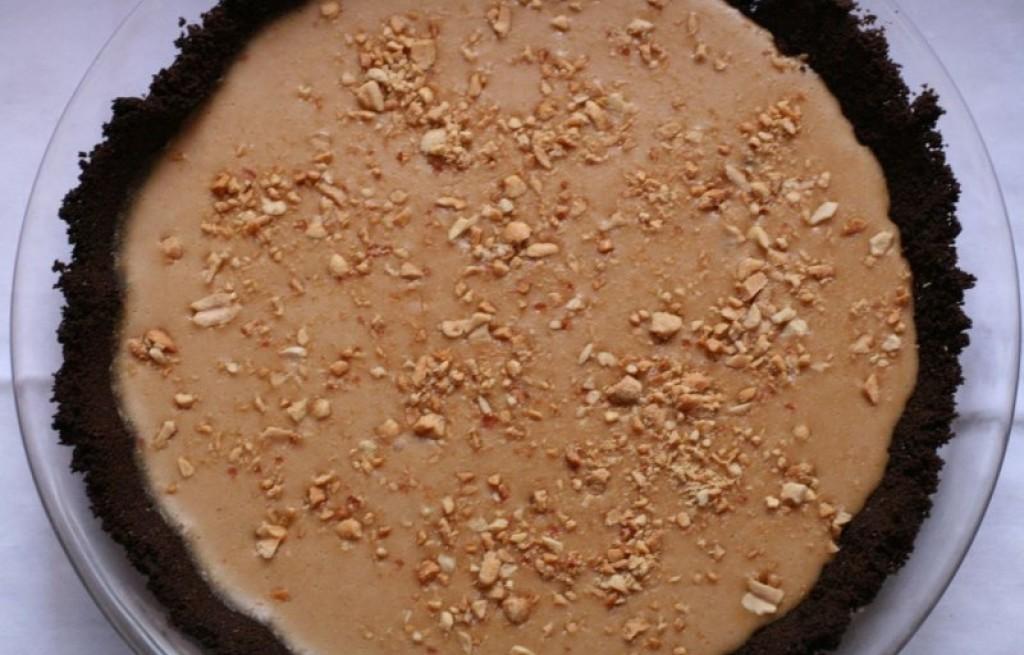 Deser czekoladowo-orzechowy