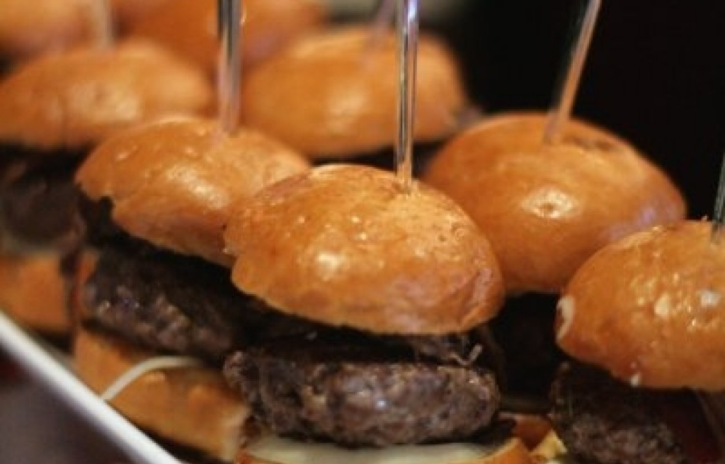 Małe hamburgery