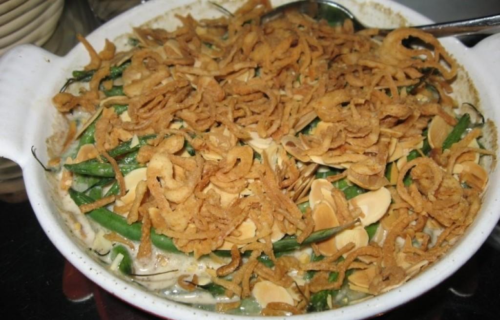 Zapiekanka z fasoli i cebuli