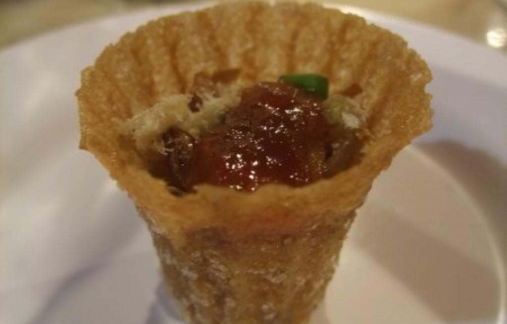 Kueh Pie Tee - kubki z jarzynami