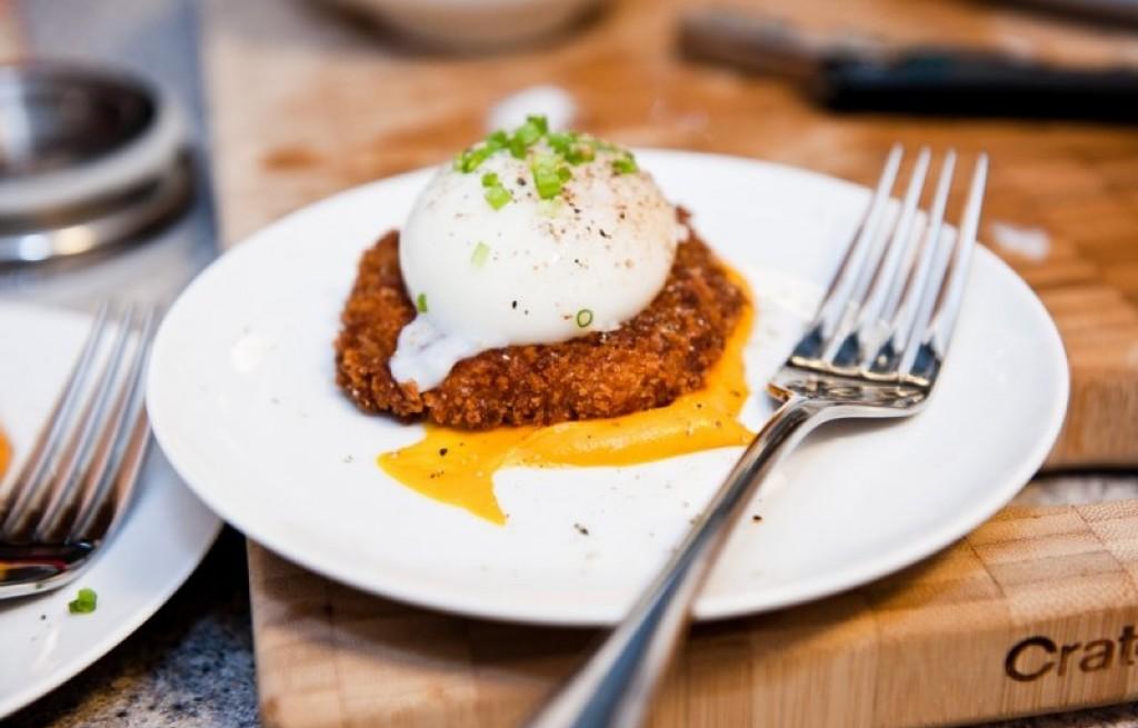 Kotlety mięsne z marchewką i jajkiem