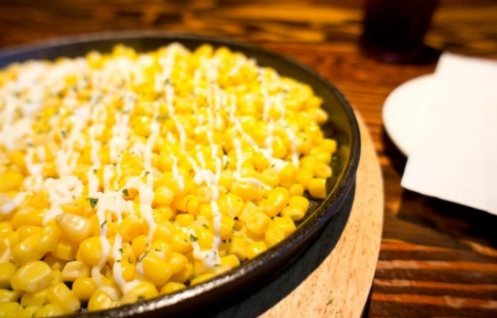 Kukurydza z boczkiem i masłem