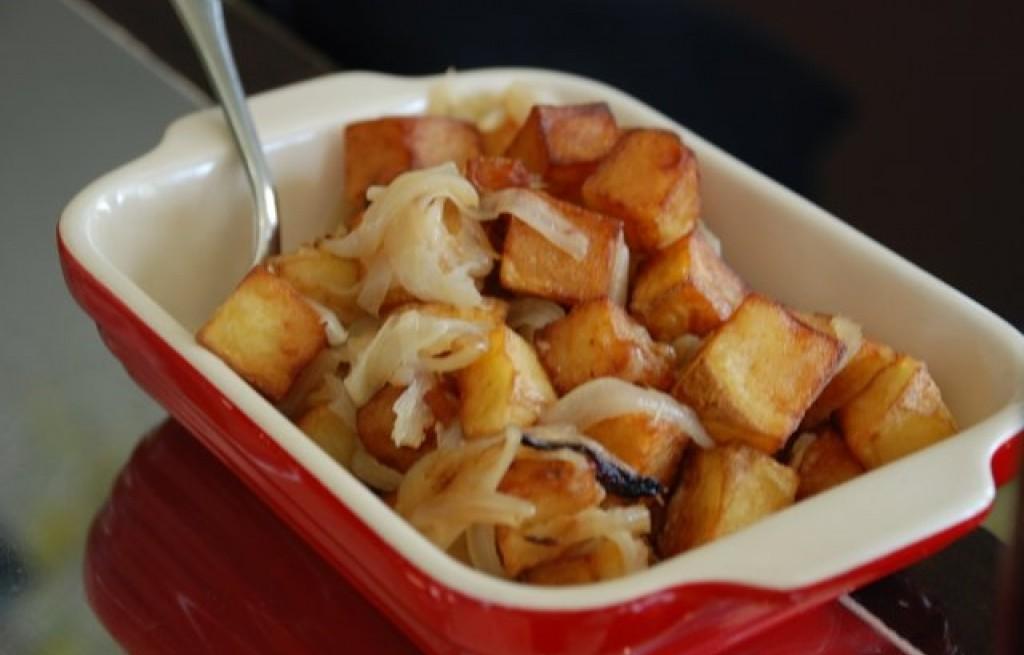 Papas - ziemniaki z cebulą
