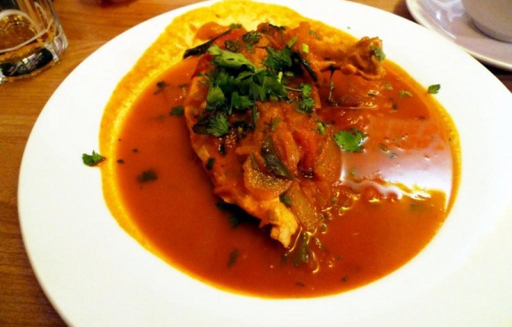 Kurczak w sosie Madras