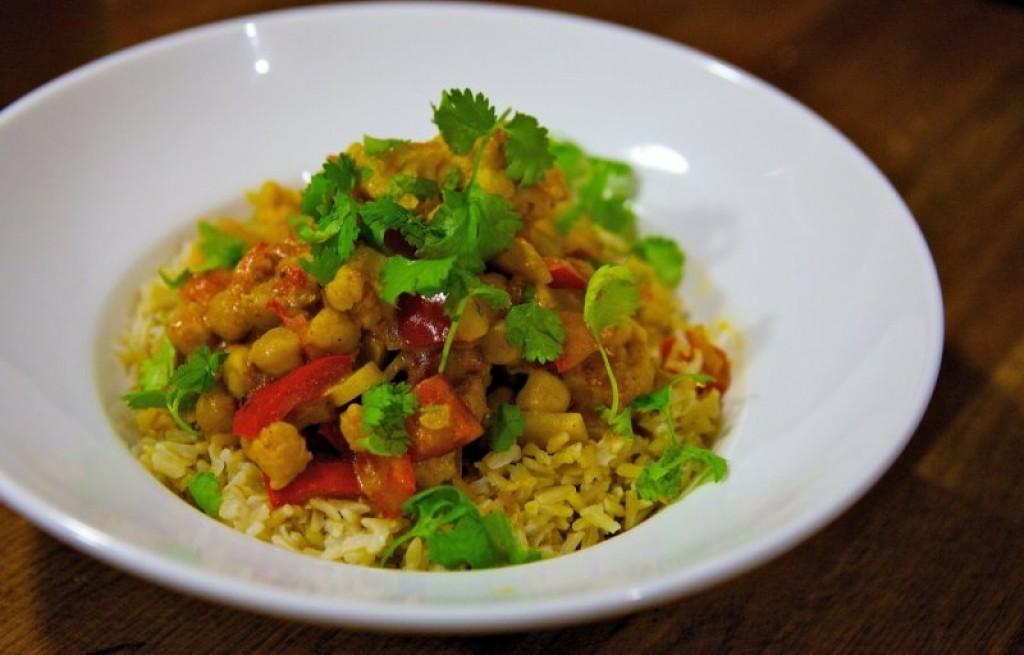 Vindaloo wegetariańskie  z curry