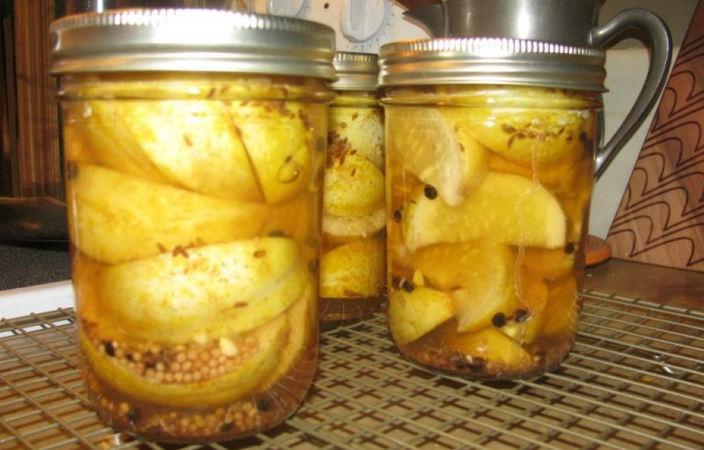 Pikle z ogórków cytrynowych