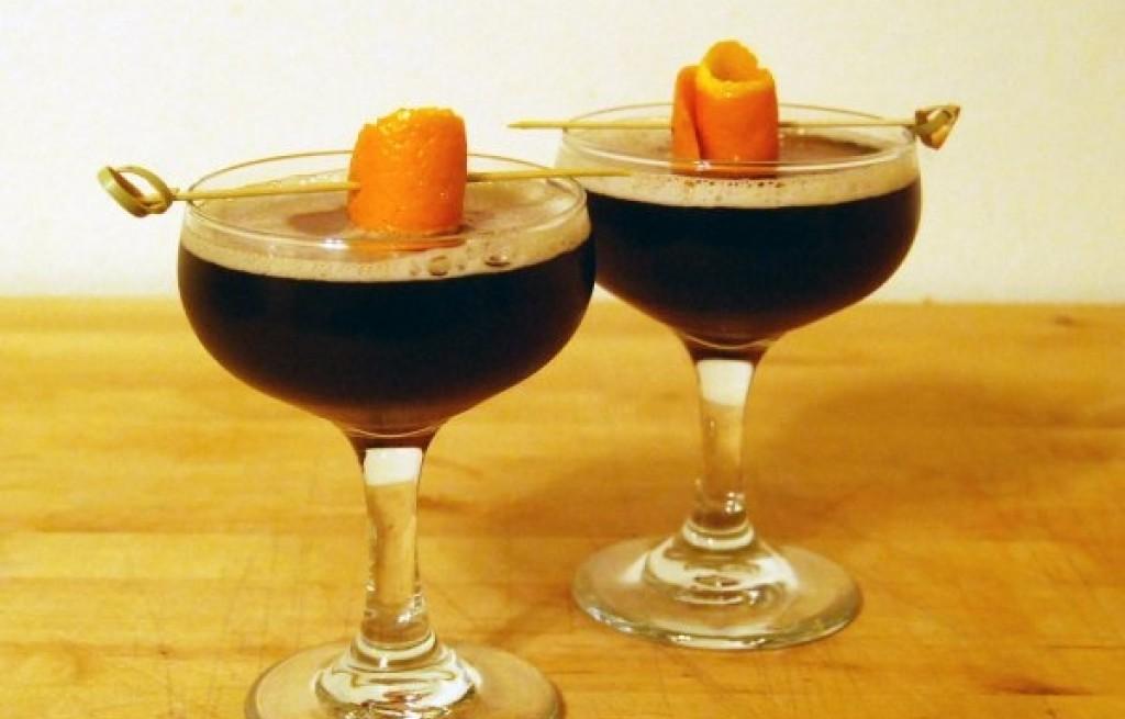 Bourbon Ball Martini