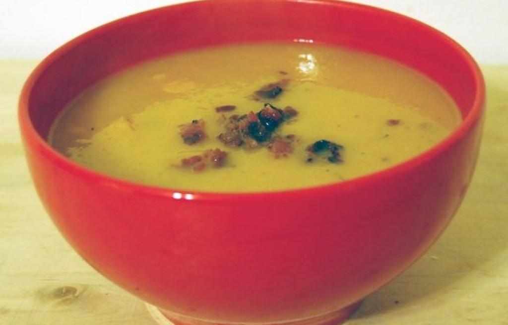 Zupa dyniowa z boczkiem