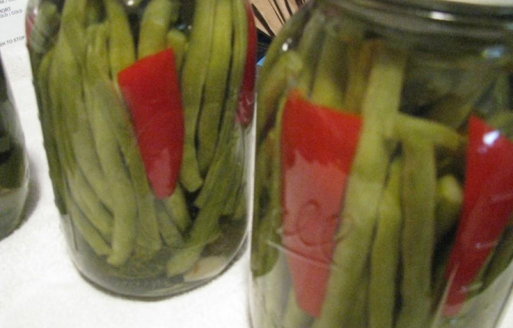 Pikle z zielonej fasolki szparagowej