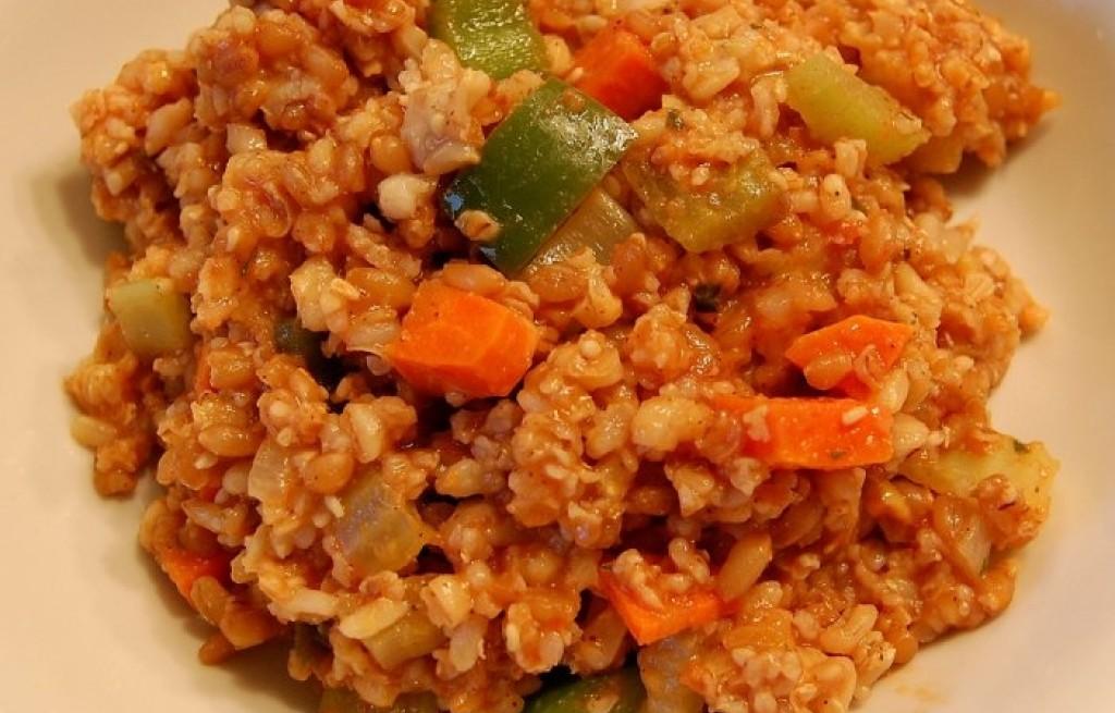 Pilaw pszeniczno-ryżowy