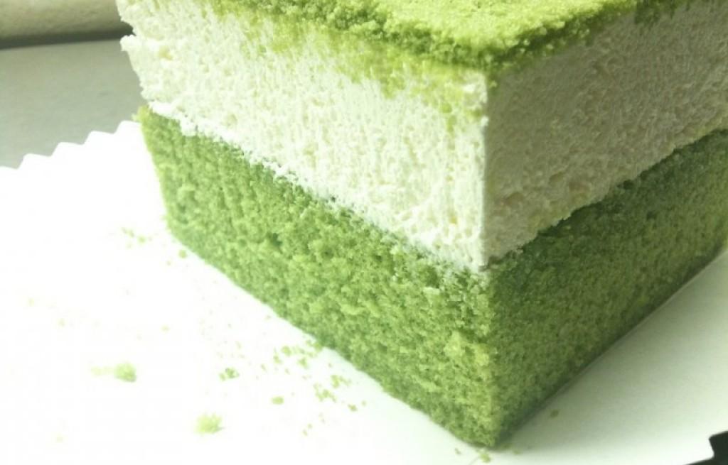 Tiramisu z zieloną herbatą