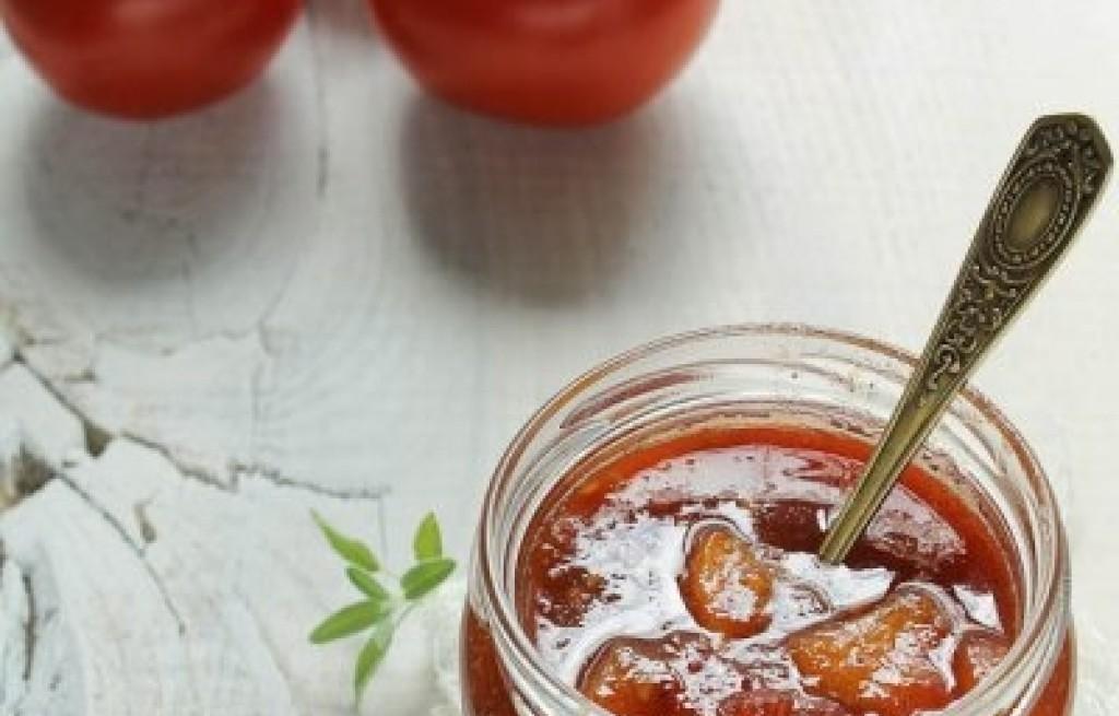 Dżem pomidorowo-brzoskwiniowy