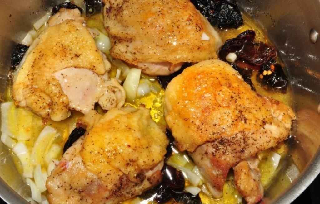 Kurczak z sardelą
