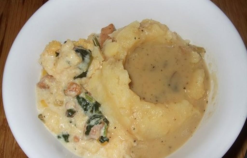 Polenta z ziemniaków