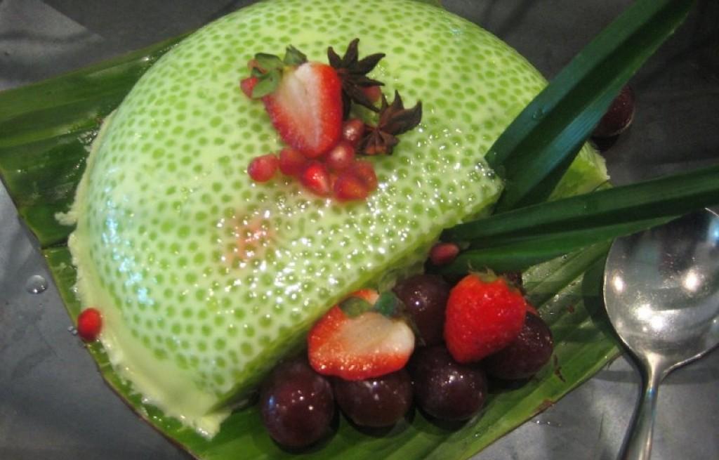 Deser owocowy z kiwano