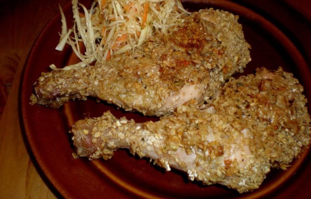 Sezamowe udka kurczaka
