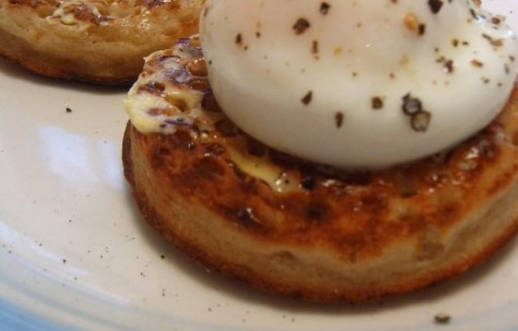 Crumpets z jajkami