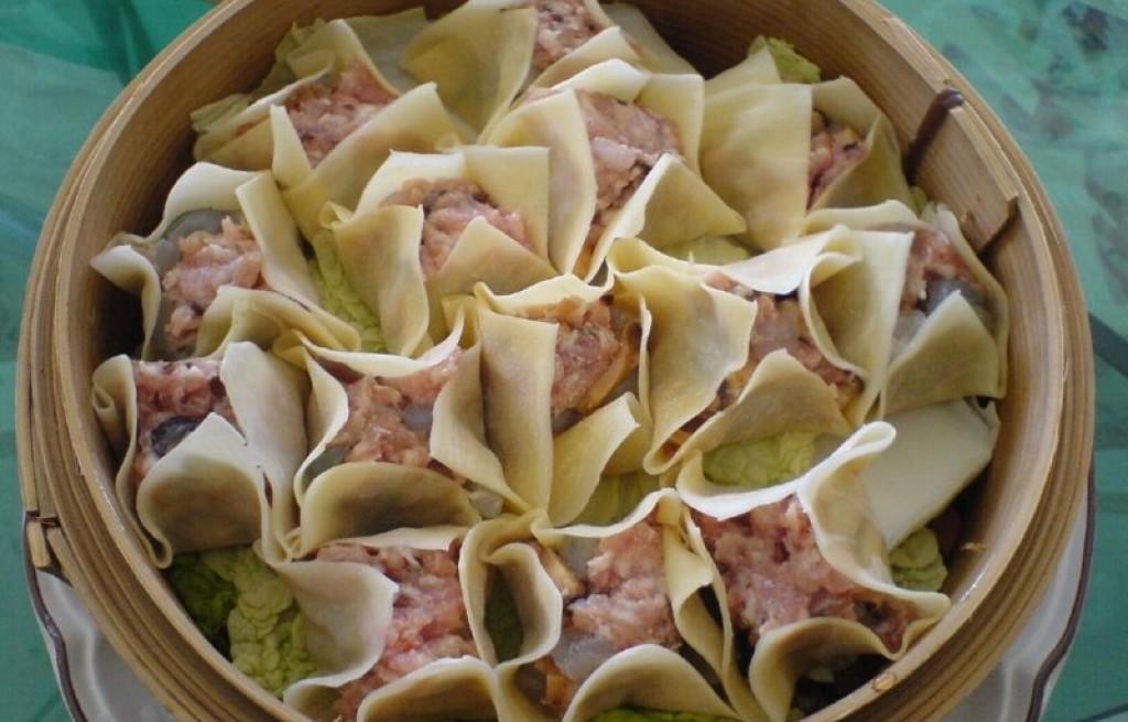 Shumai gotowane na parze