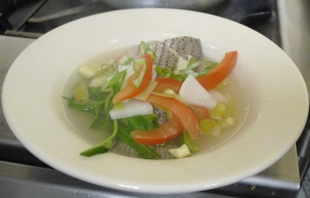 Zupa rybna z siei