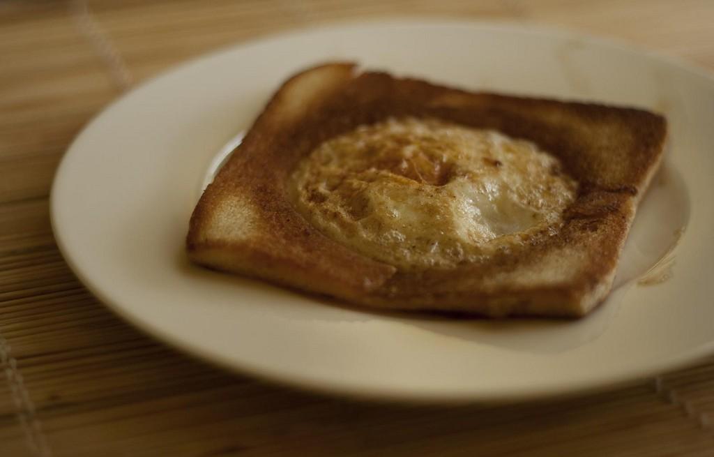 Jajko w koszu