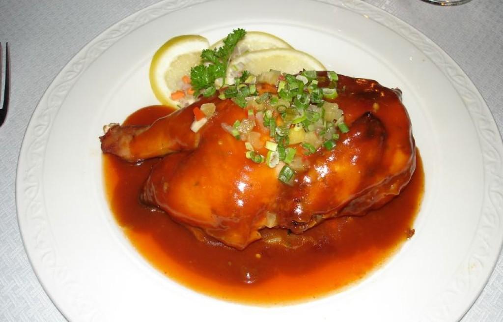 Kurczak grillowany w sosie