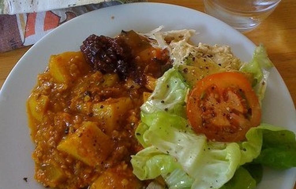 Curry z soczewicą