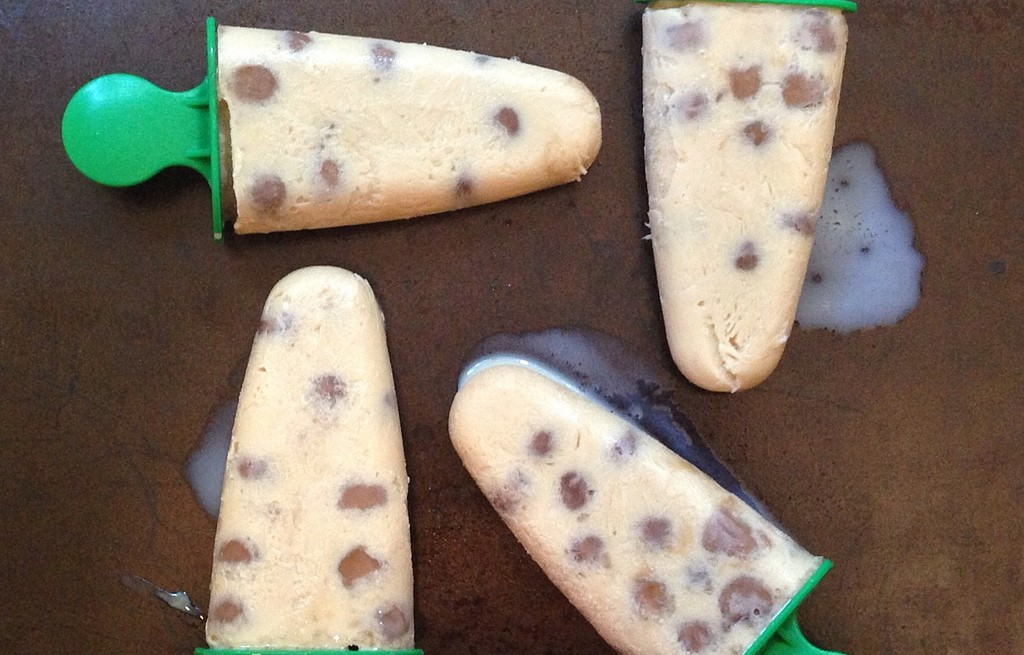 Lody z perłami tapioki