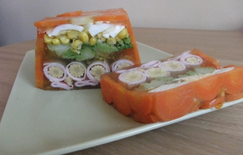 Blok warzywno-szynkowy