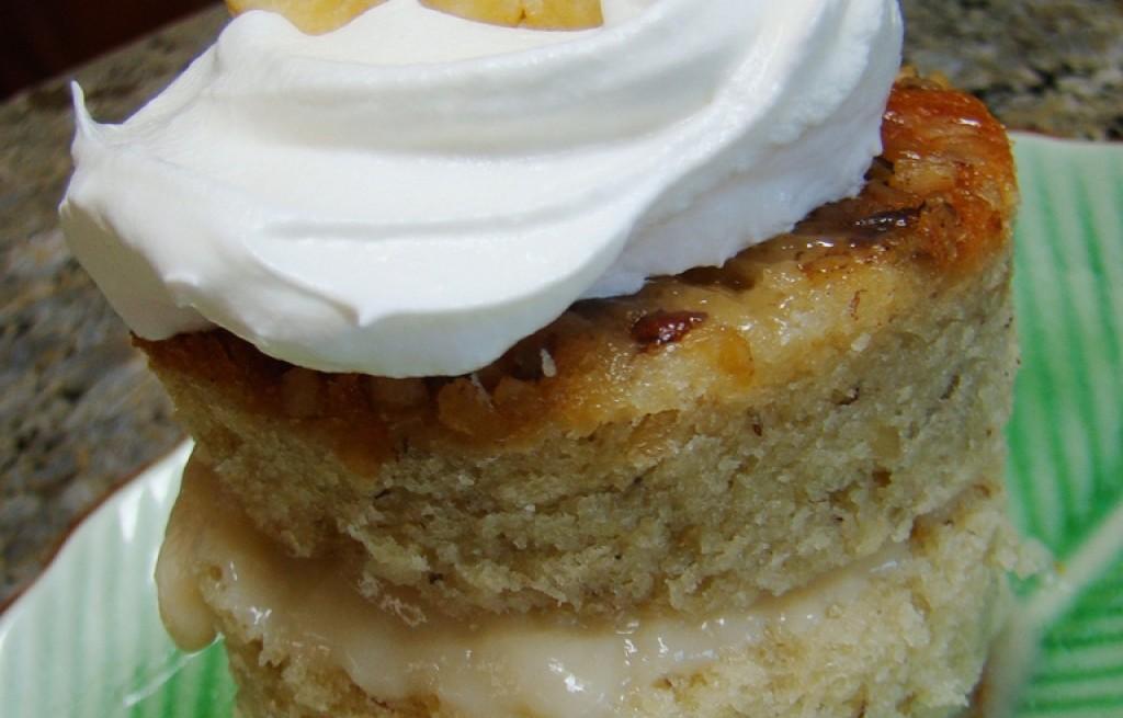Ciasto jabłkowo-bananowe