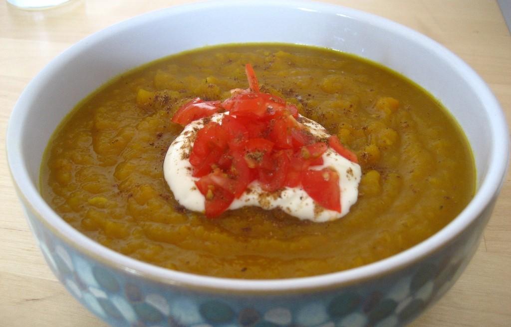 Zupa dyniowa z chili
