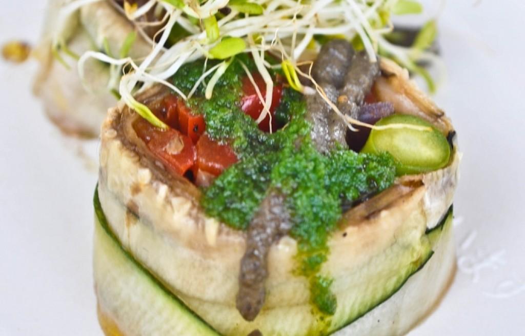 Matiasy z warzywami i wątróbką