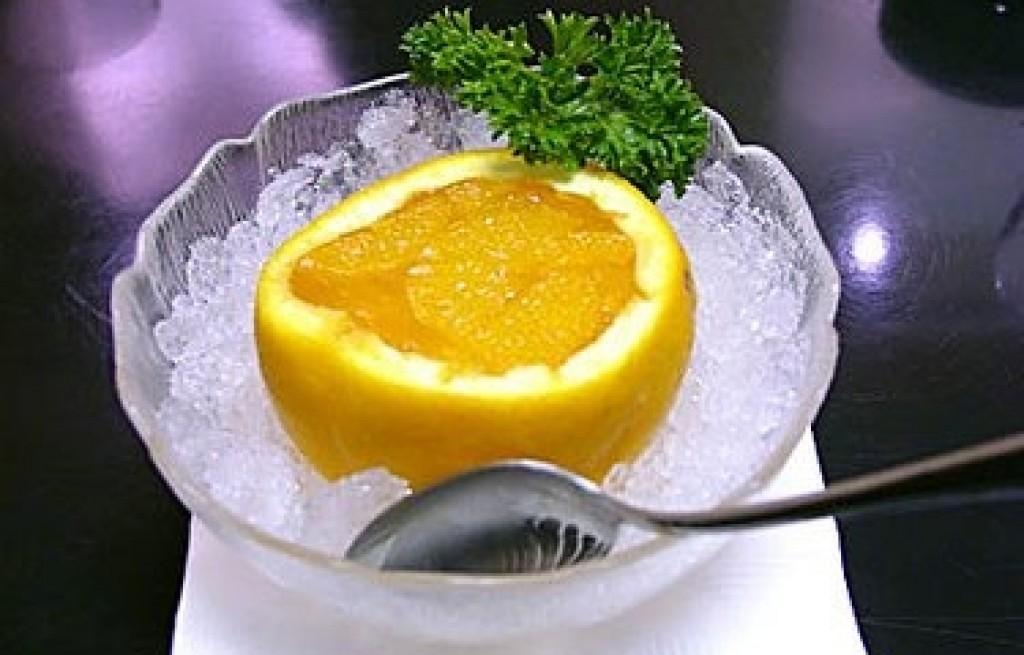 Pomarańcze nadziewane