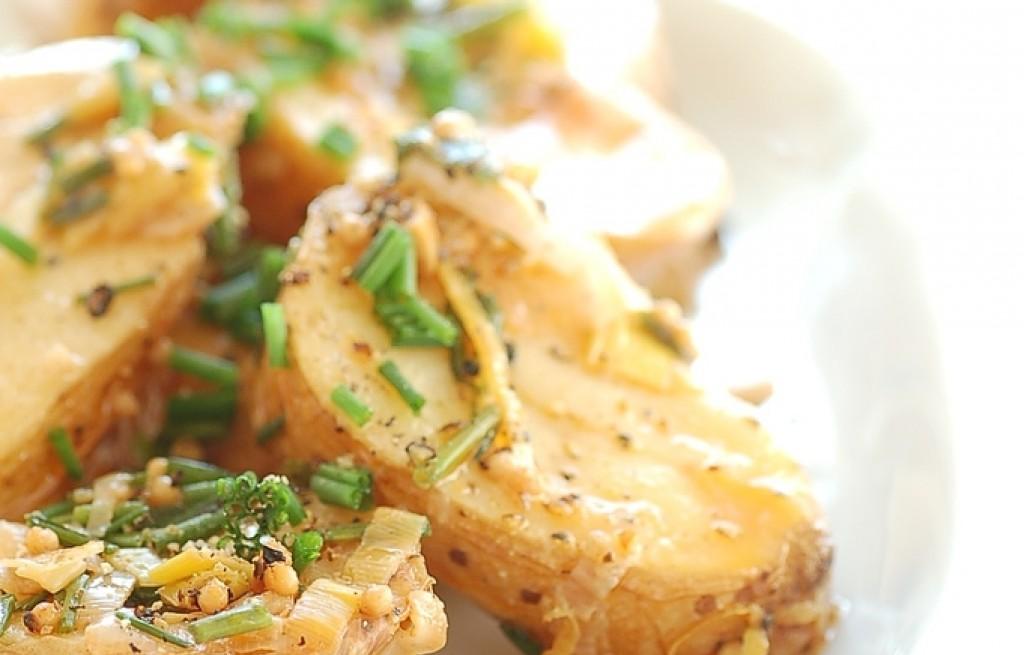 Ziemniaki pieczone z papryką i orzechami