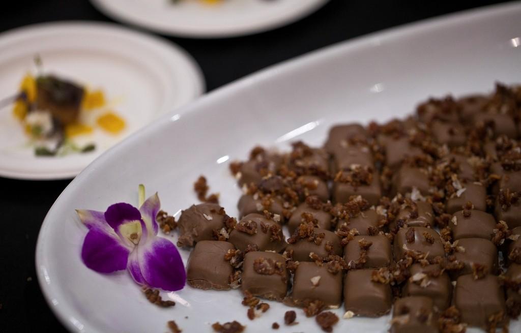 Marcepanki z czekoladą i boczkiem w karmelu