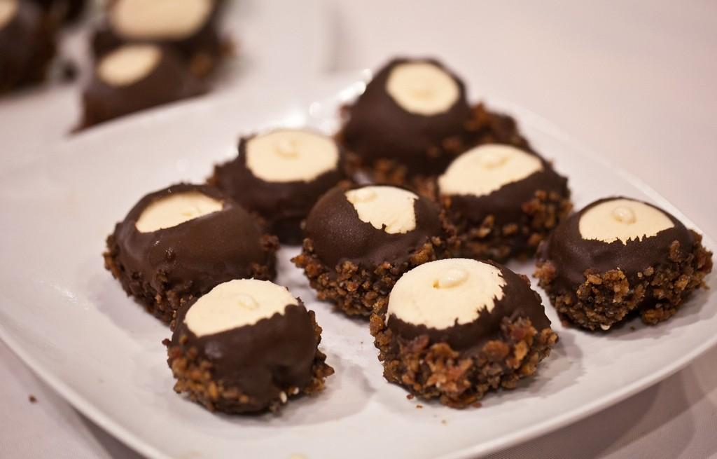 Kulki lukrowe z czekoladą i boczkiem