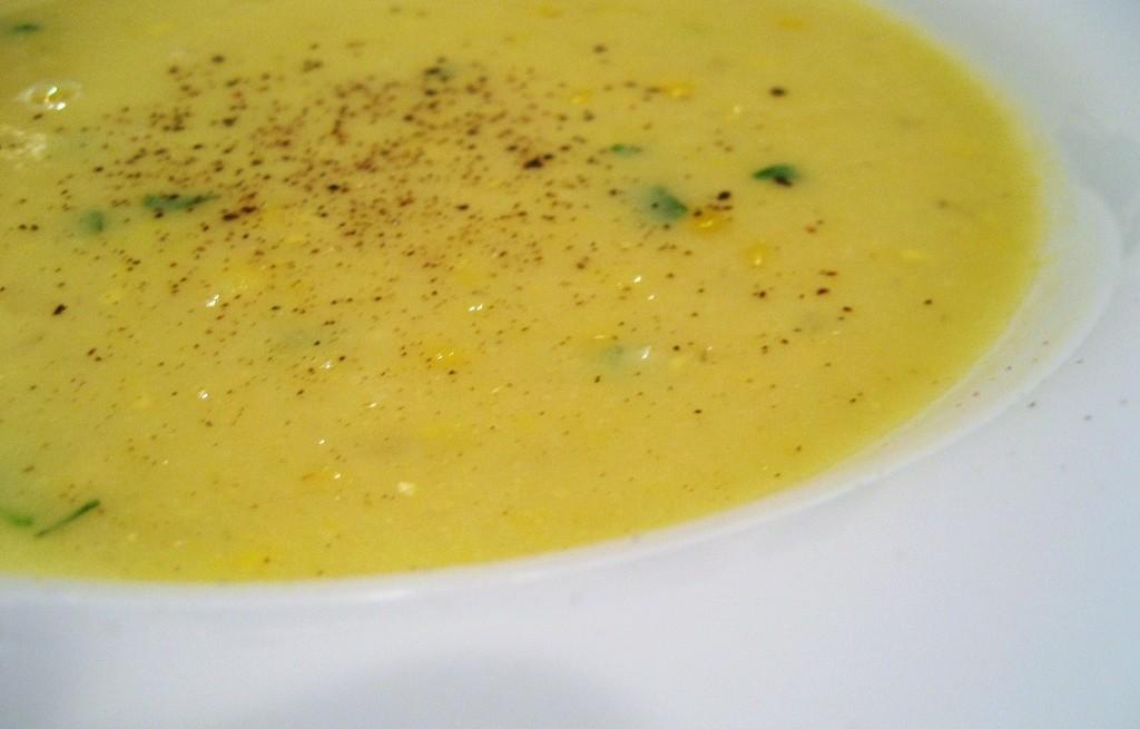 Zupa kukurydziana z chili