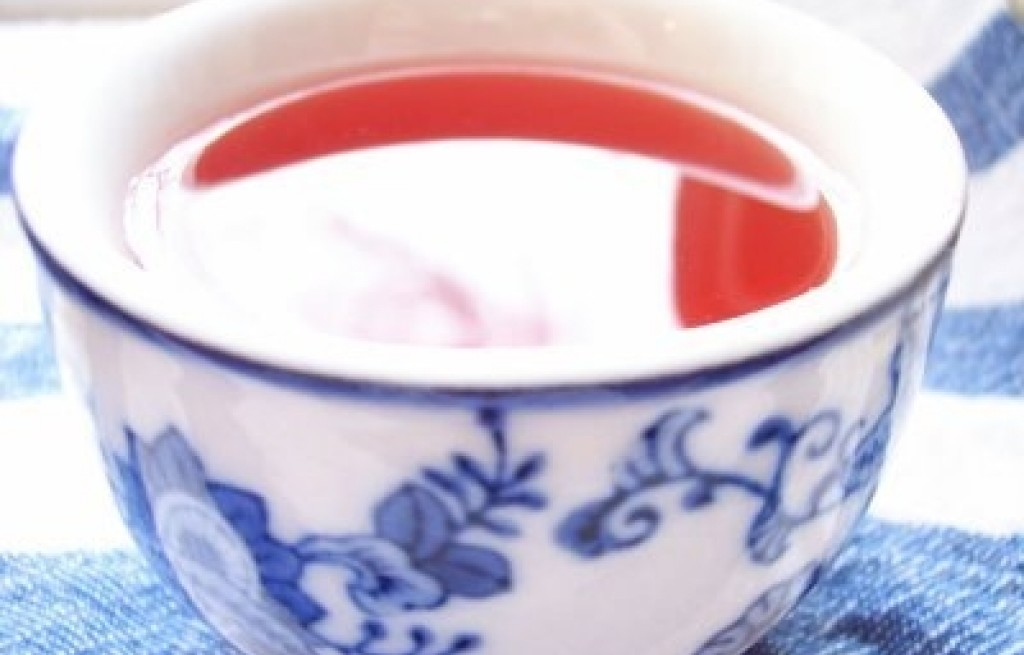 Herbata z winem