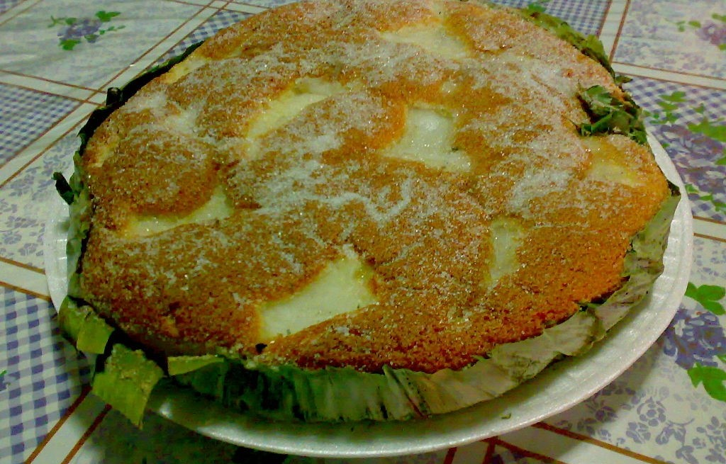 Bibingka - filipińskie ciasto kokosowe