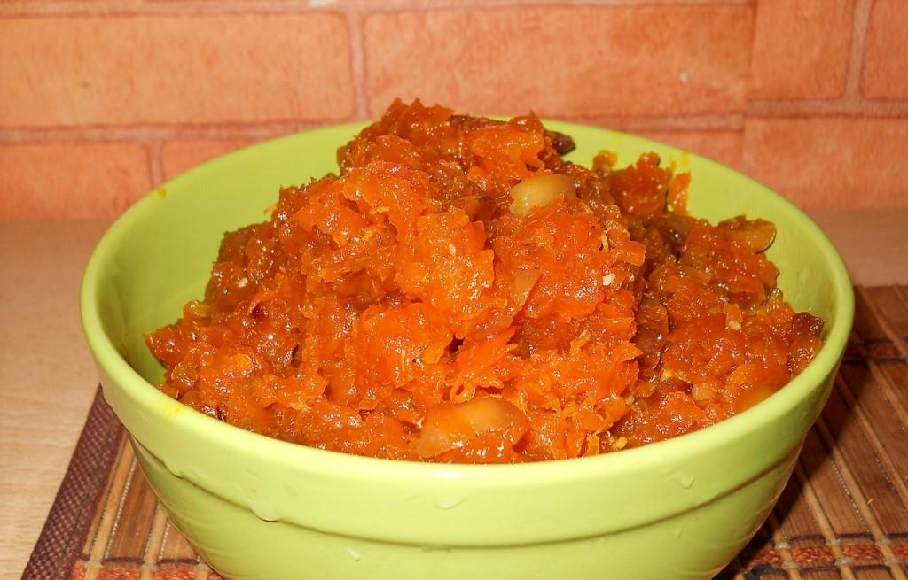 Halva carrot
