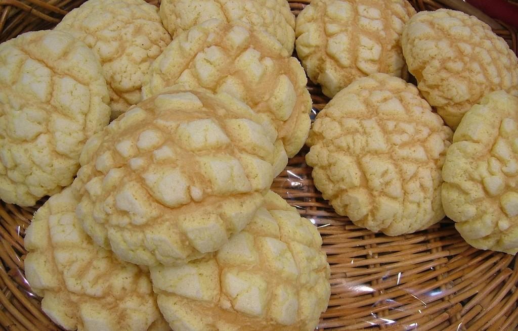 Melonpan (japońskie bułki)