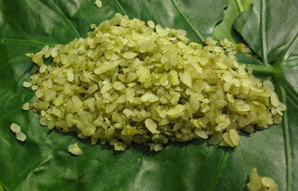 Cốm (młody, zielony ryż)