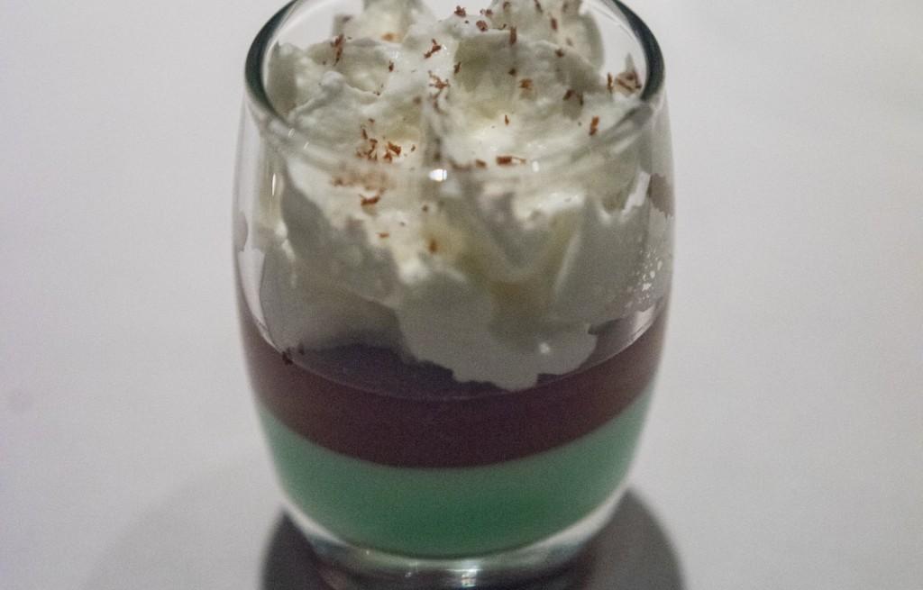 Deser miętowo-czekoladowy