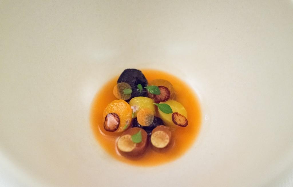 Warzywa w soku mandarynkowym