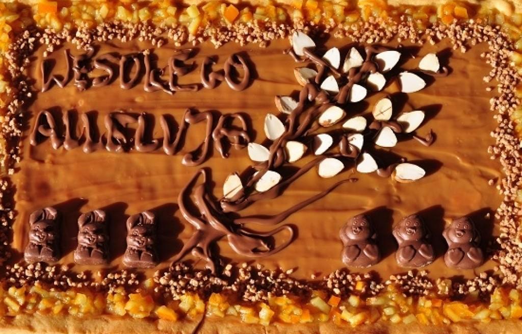 Mazurek czekoladowy z Cykoriadą i konfiturą