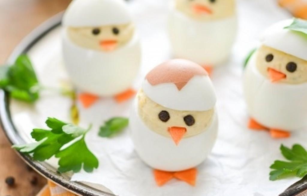 Jajka faszerowane serkiem Cremetta marki Lactima
