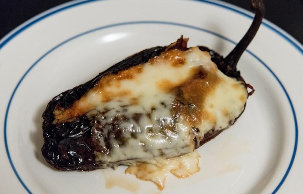 Chili zapiekane z batatami i serem