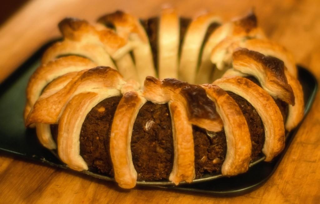 Ciasto z mięsem mielonym
