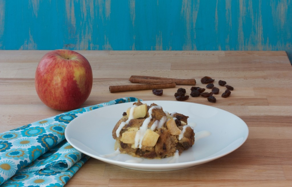 Pudding jabłkowy