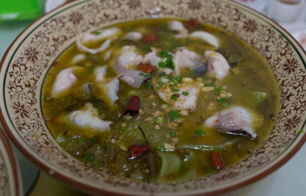 Suan La (zupa rybna)